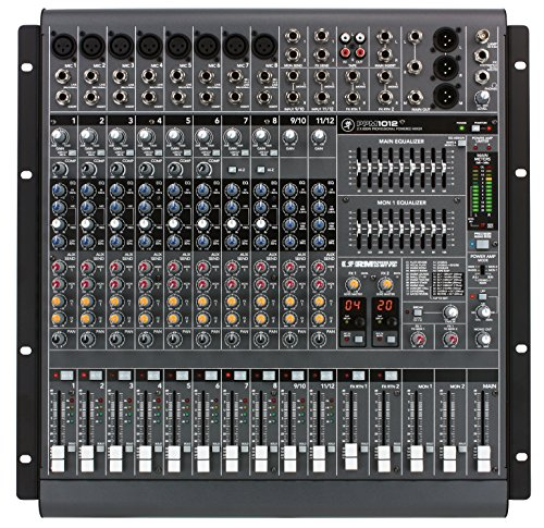 Mackie PPM1012 12-Channel, 1600-Watt Powered Desktop Mixer by Mackie
