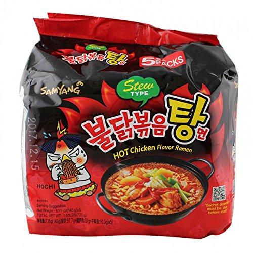Spicy Fried Chicken (Spicy Fried Chicken Ramen Noodles Stew Type 5.11 x5)