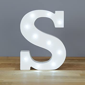 lighting letters. up in lights decorative led alphabet white solid letters letter s lighting