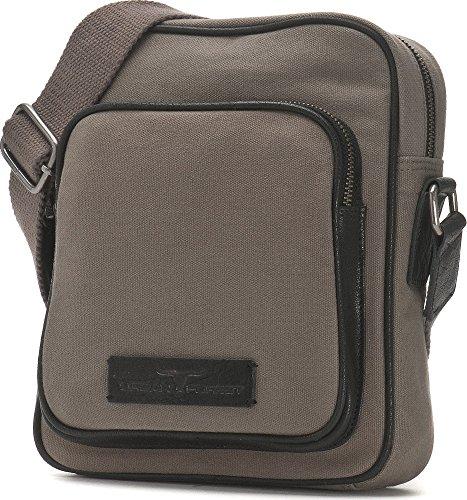 Urban Forest, Bags, Crossover borse, tracolla, Canvas, pelle, 20x 25,5x 6,5cm grigio