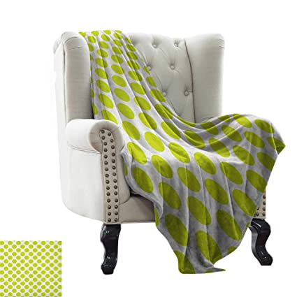 Remarkable Amazon Com Yoga Blanket Lime Green Nostalgic Polka Dots Caraccident5 Cool Chair Designs And Ideas Caraccident5Info