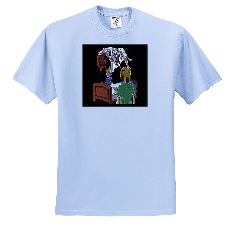 Illustration Art of People with Satan Satanic Occult Adult T-Shirt XL 3dRose Sven Herkenrath Fantasy ts/_320730