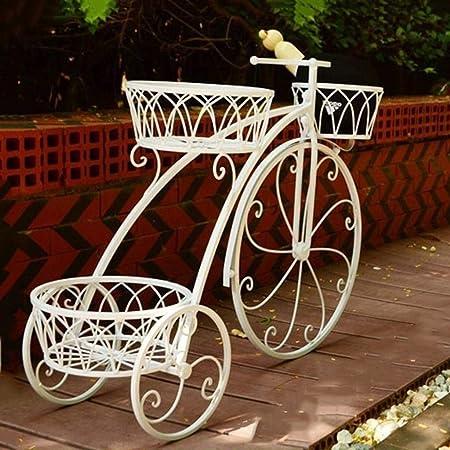 LXESWM Plante Décoration Fer Forgé pour Jardin Vélo ...