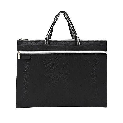Amazon.com: Jia Hu 1pc lona rejilla portafolios para ...