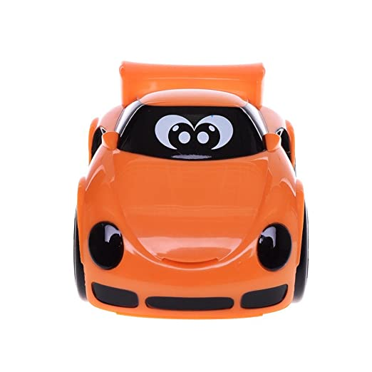 Chicco - Coche Turbo Touch Stunt Car, Richie Road, Color Naranja: Amazon.es: Juguetes y juegos