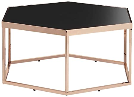 OTTMAR Modernize Metal Frame Coffee Table in Hexagon A0016936 ...