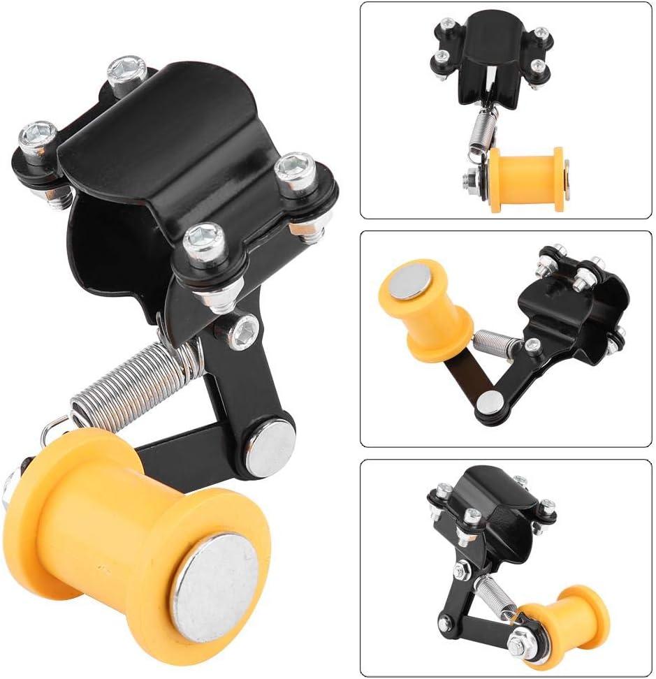 Black Cha/îne de r/églage de moto boulon de tendeur de cha/îne de r/églage sur rouleau Accessoires modifi/és pour moto Outil universel