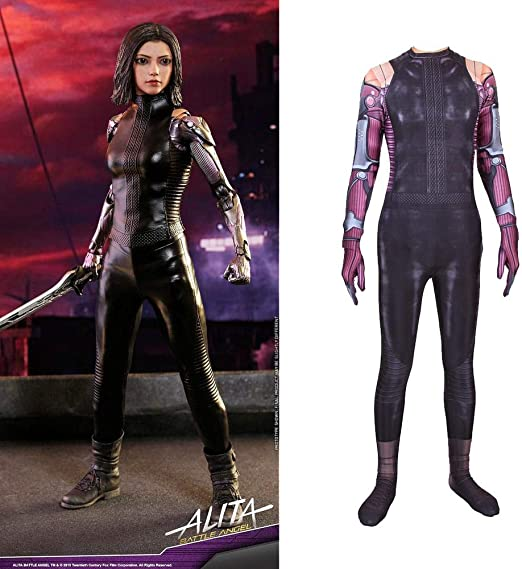 Cosplay Ropa Aletta Fighting Angel Cosplay Disfraz Lycra Medias ...