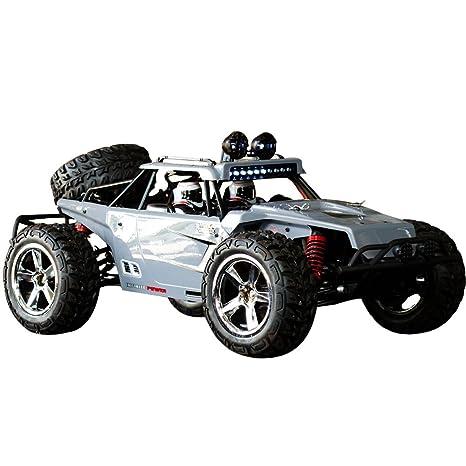 HUKOER Carro de Control Remoto para Niños - Coche de Rastreador de Roca con 1: