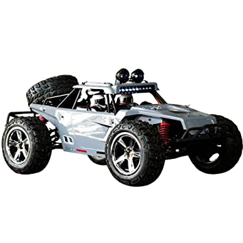 hukoer remote control car for kids rock crawler car with 112 full scale
