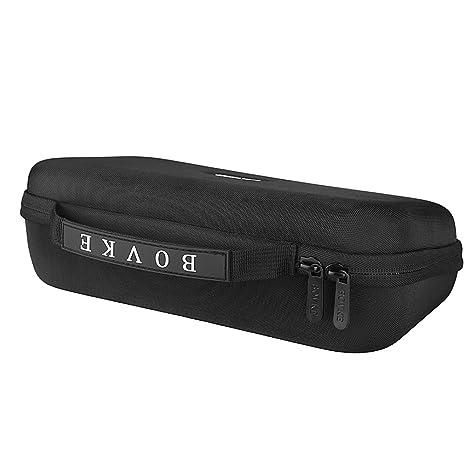 BOVKE EVA carcasa rígida bolsa de viaje para Omron inalámbrica de la serie 5 parte superior del brazo monitor de presión arterial encaja estándar y grandes ...