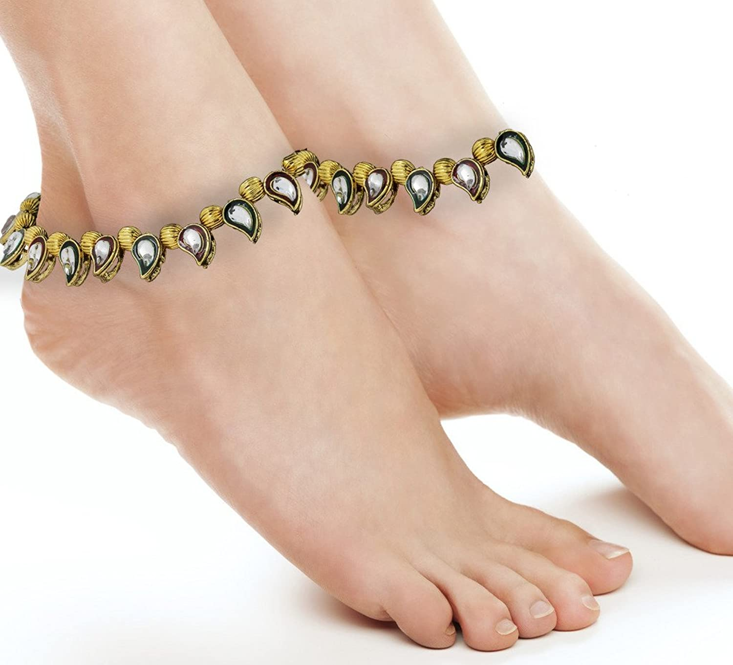 product locking delicate vogue detail silver buy payal coin anklet fancy anklets