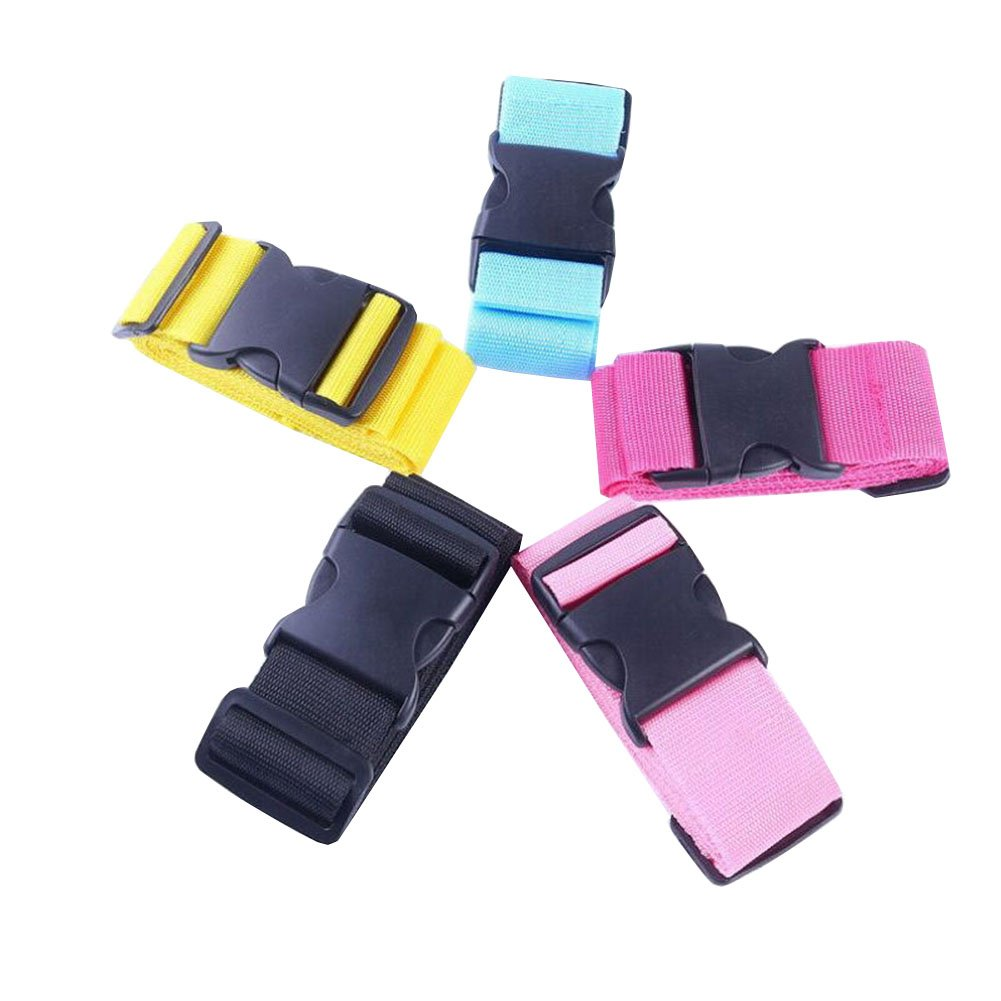 Heavy Duty Luggage Straps, Suitcase Tie Down Securing Straps, Baggage Belts Travel Bag Accessories - 5 Colors Available
