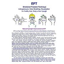 EFT - Emotional Freedom Technique & Acupressure, Color Breathing, Visualization: Natural Eyesight Improvement (Black & White Edition)