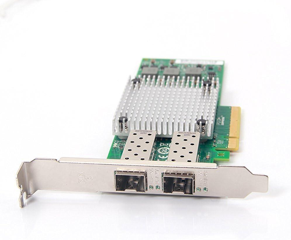 tarjeta ethernet con 2 conectores rj45 para servidores