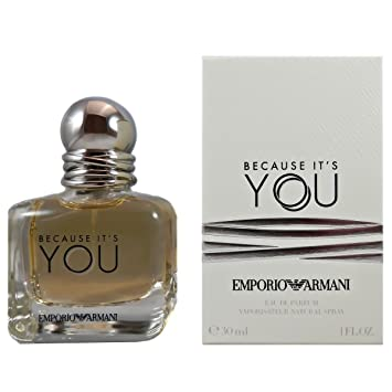 6abc6d9592 Armani Emporio Because It's You Women EDP, 30 ml: Amazon.co.uk: Beauty