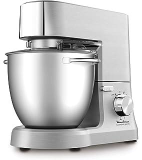 Moulinex Masterchef QA810D01 - Robot de cocina y repostería profesional 1500 W con kit de masas