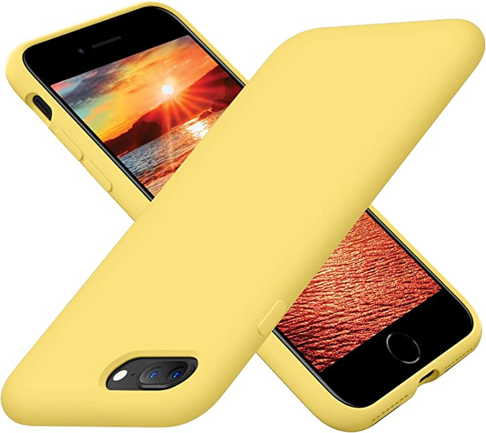 The Best Apple Iphone Silicone 8 Plus Yellow Case