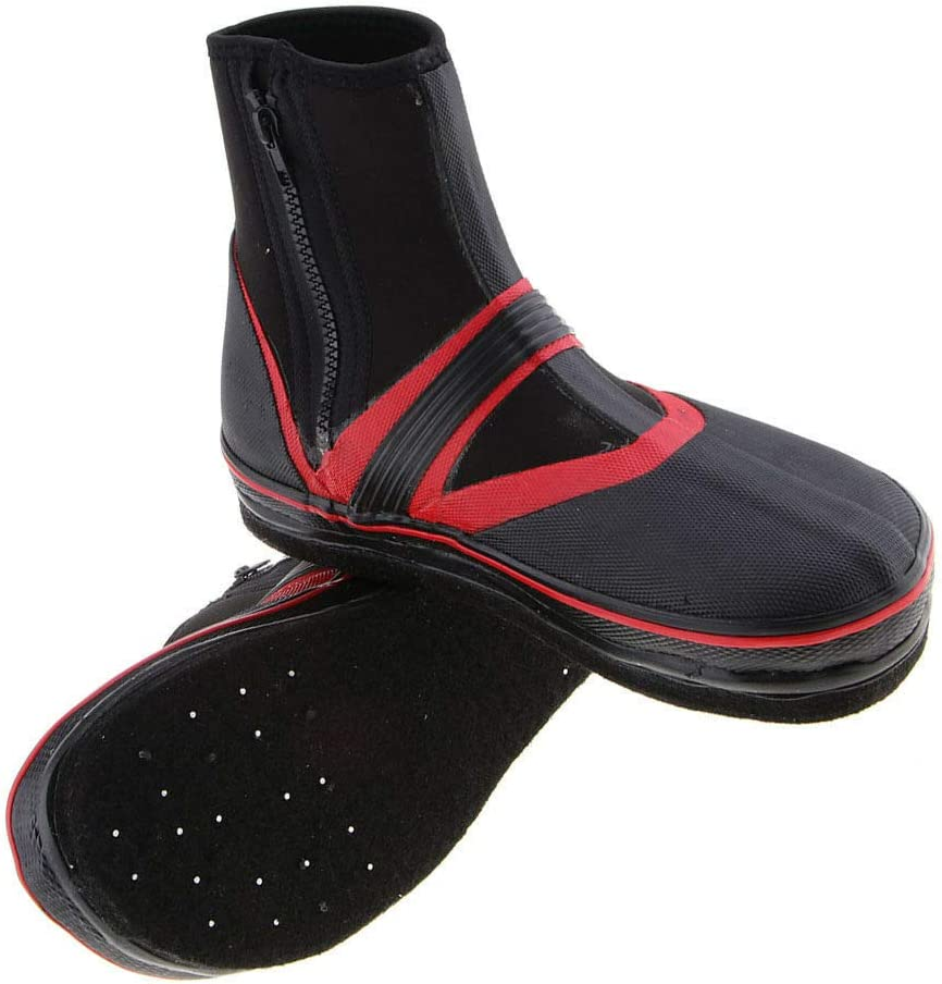 Non-Skid Boots Shoes with Nails Spikes for Fishing River Tracing Diving