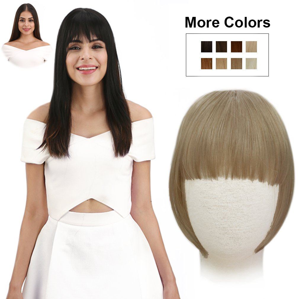 Amazon Reecho Fashion One Piece Clip In Hair Bangsfringehair