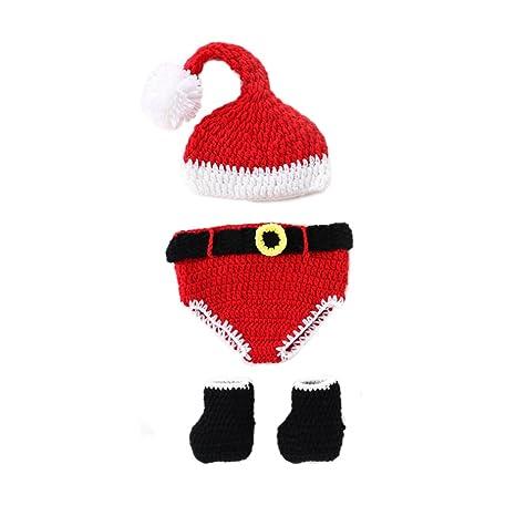 FYGOOD, Baby Disfraz Fotografía Ropa, recién Nacido bebé Disfraz Animales Weihnachten Talla:0