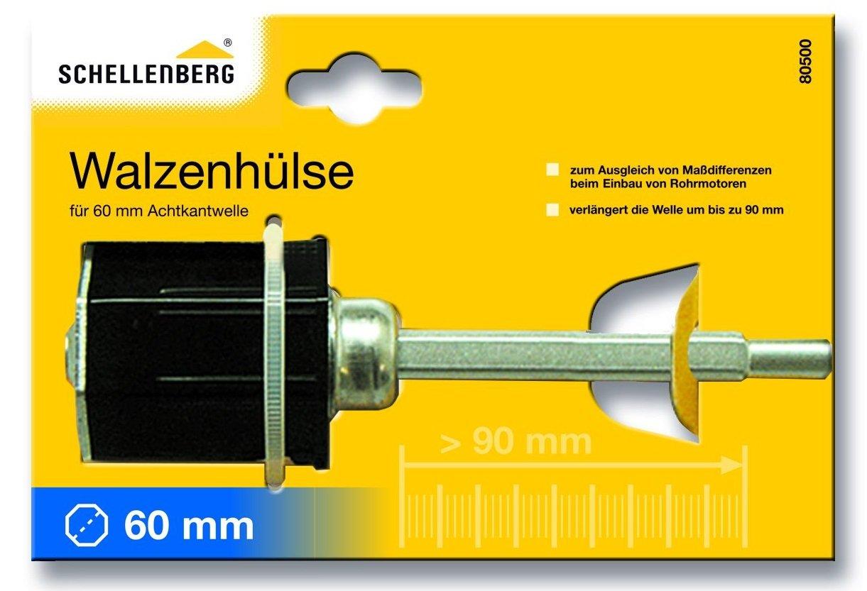 Schellenberg 80300 Walzenh/ülse Maxi kurz 60 mm