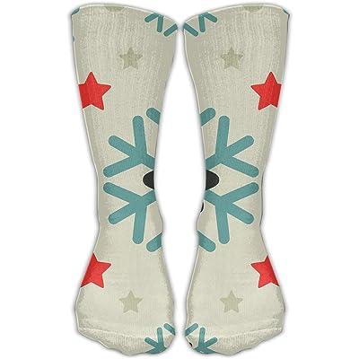 YUANSHAN Socks Color Snow Mark Women & Men Socks Soccer Sock Sport Tube Stockings Length 11.8Inch