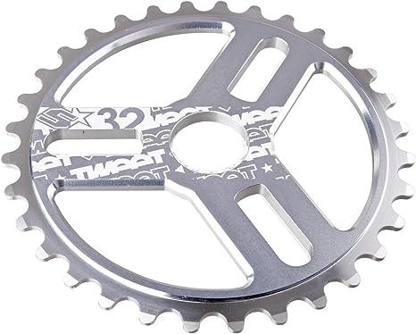 Spank SP-CRK-0010-chrome-32 Tweet 32 - Plato de Bicicleta: Amazon ...