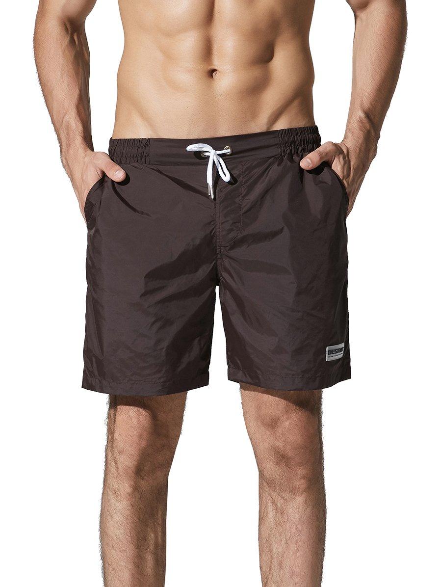 Neleus Men's Lightweight Swim Trunks Beach Shorts DK0807-US