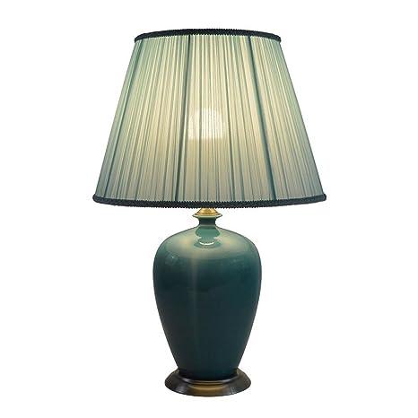 Amazon.com: DMMSS Lámpara de mesa de cerámica para ...
