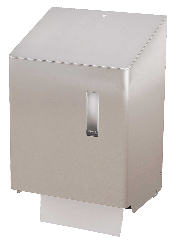 Ophardt SanTRAL HAU 1 Automático dispensador de toallas de papel Edelstahl.weiß. pulverbeschichtet: Amazon.es: Hogar