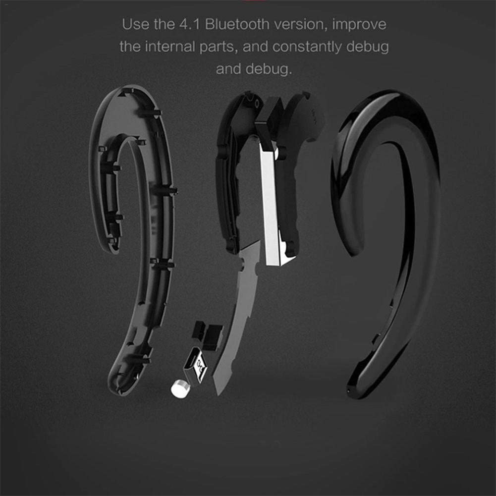 ear-mounted real wireless headset k8 Universal business type non-headphone plug Bluetooth headset for driving business gym running noise reduction hands-free ca Wireless earbudless Bluetooth headset