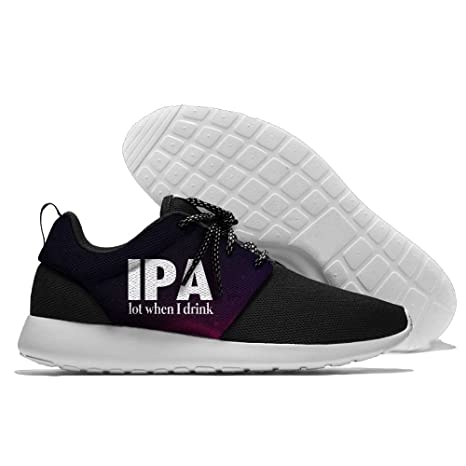 IPA Lot When I Drink Lightweight Breathable Casual Running Shoes Fashion Sneakers Shoes