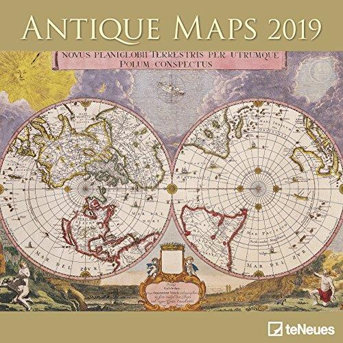 Antique Maps 2019 Broschürenkalender