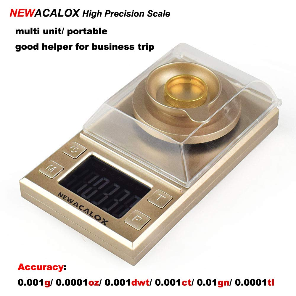 brucelles poids de calibrage c/âble de charge Balance en milligrammes 100g x 0.001g Balance de pesage num/érique Balance de poche mini avec /écran pare-vent plateau de pes/ée