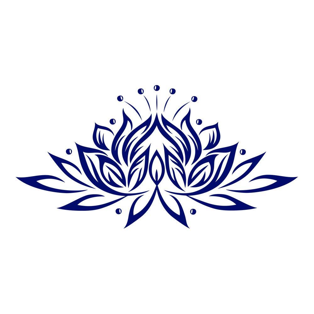 Azutura Lotus Blaume Blaume Blaume Wandtattoo Blaumen Wand Sticker Buddhismus Wohnkultur verfügbar in 5 Größen und 25 Farben Mittel Weiß B00DODFSFW Wandtattoos & Wandbilder d128b1