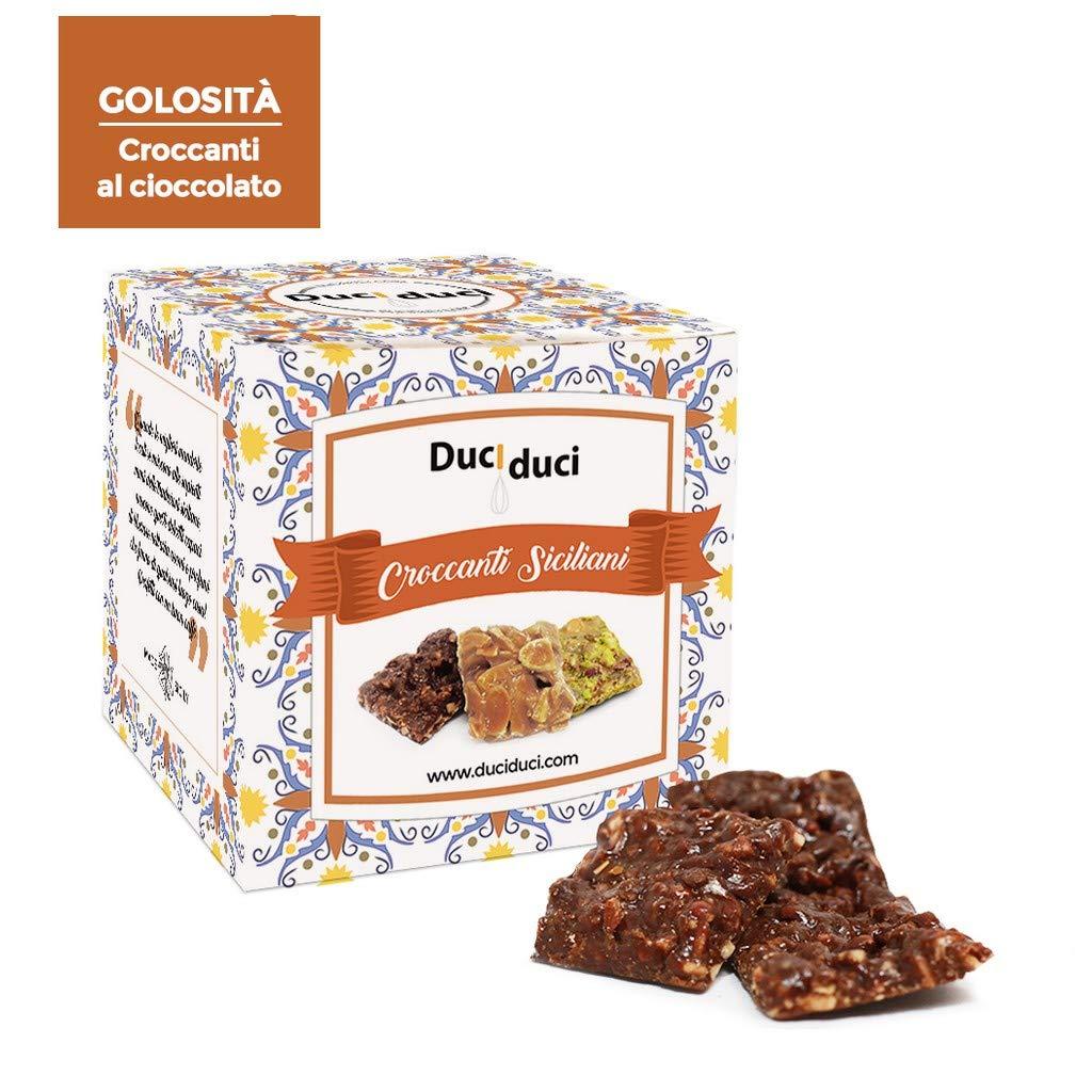 50 Cuadrados de Crocante Siciliano con Chocolate - Duci Duci - FRHOME: Amazon.es: Alimentación y bebidas