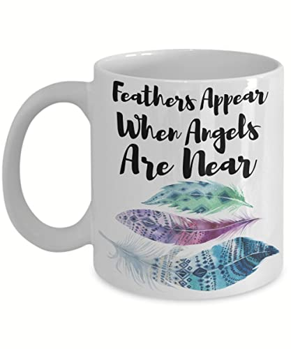 Amazon Com Feathers Appear When Angels Are Near Inspirational Gift