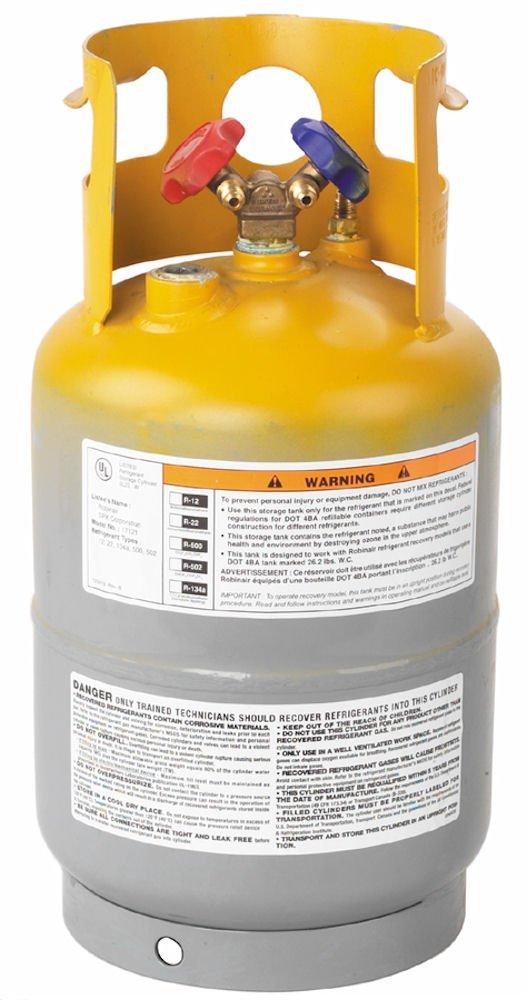 Robinair 17121 30 lbs. Refrigerant Tank 27117