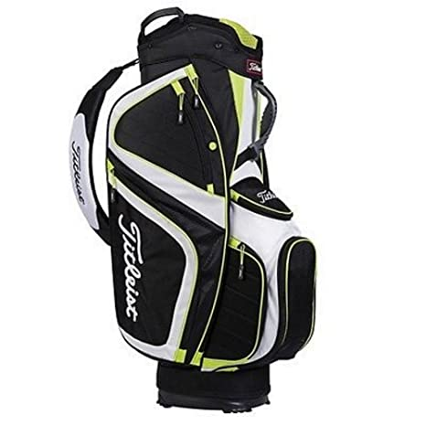 Amazon.com: Titleist 2015 ligero bolsa de golf, blanco/negro ...