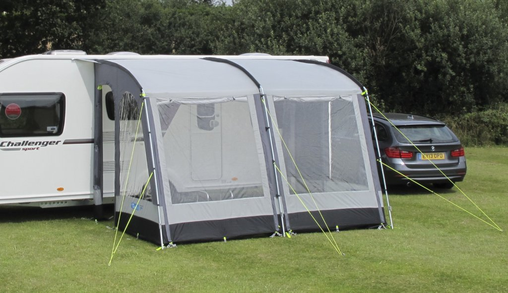 Kampa Rally 330 Caravan Porch Awning Pearl Grey CE740497