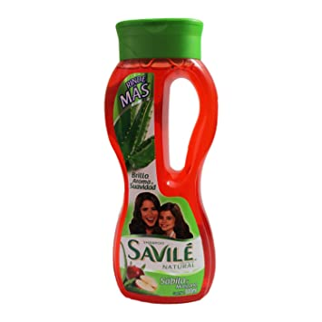 Savile Shampoo with Aloe Pulp and Apple New 800ml/shampoo Con Sabila Y Manzana New
