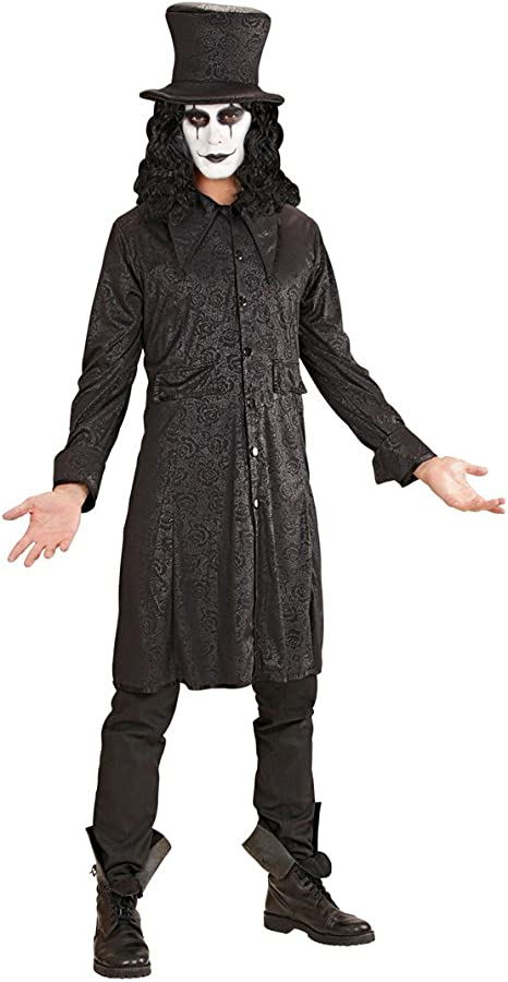 NET TOYS Disfraz Halloween Raven Capa Vampiro con Sombrero L 52 ...