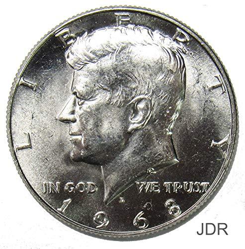 1968 D 40% Silver Kennedy Half Dollar 50¢ Brilliant Uncirculated (Half Kennedy Coin Bu Dollar)