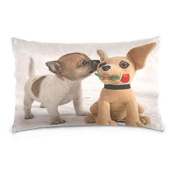 ALAZA - Funda de almohada para perro, chihuahua