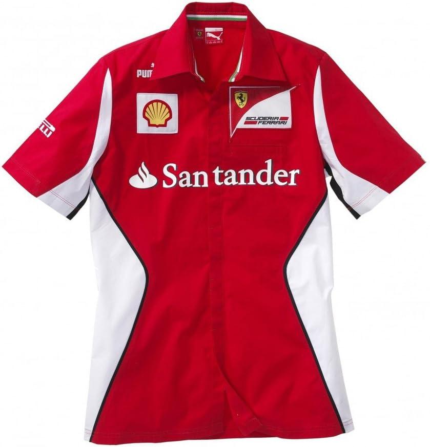 Ferrari Puma 2012 equipo Pit camiseta pequeña: Amazon.es: Deportes y aire libre