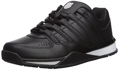 K-Swiss Schuhe Baxter Black-White (05444-002) 47 Schwarz juAZx
