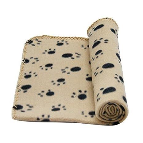 HONGCI 70x100cm Grandes Mantas de Suave Cálida Felpa para Perros, Gatos, Conejos y Otras