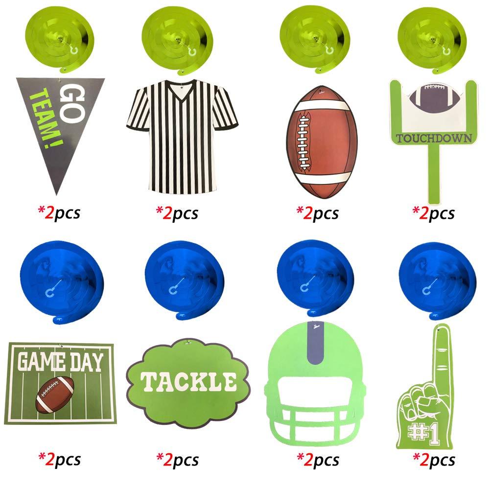 Amazon.com: Adornos colgantes de balón de fútbol americano ...