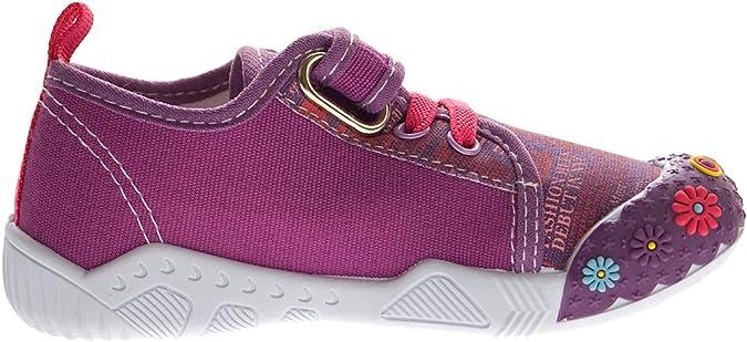 25-30 Kinder Leinen Schuhe Jungen Mädchen Stoff Hausschuhe Kita Halbschuhe Gr
